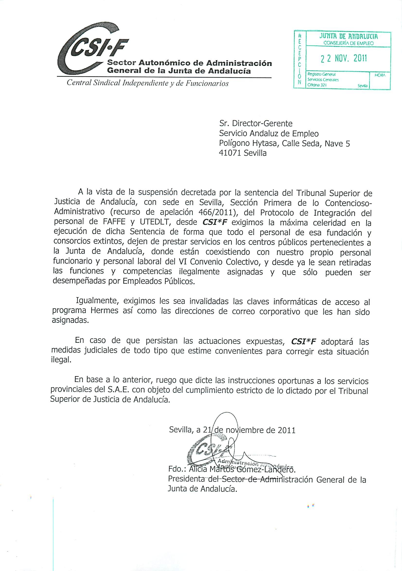 Correo corporativo junta de andalucia