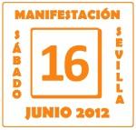 Manifestación de Empleados Públicos de la Junta de Andalucía. SEVILLA.16 de Junio.