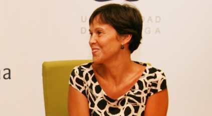 Marta Rueda, delegada de Economía, Innovación, Ciencia y Empleo de la Junta en Málaga .